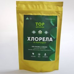 Хлорелла, Top Spirulina, порошок, 100 г