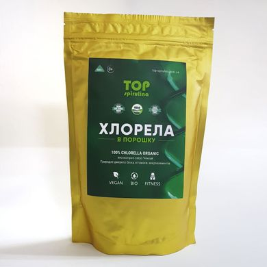 Хлорелла, Top Spirulina, порошок, 500 г